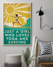 Surfing And Yoga 16x24 Poster lifestyle-poster-1