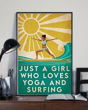 Surfing And Yoga 16x24 Poster lifestyle-poster-2