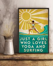 Surfing And Yoga 16x24 Poster lifestyle-poster-3