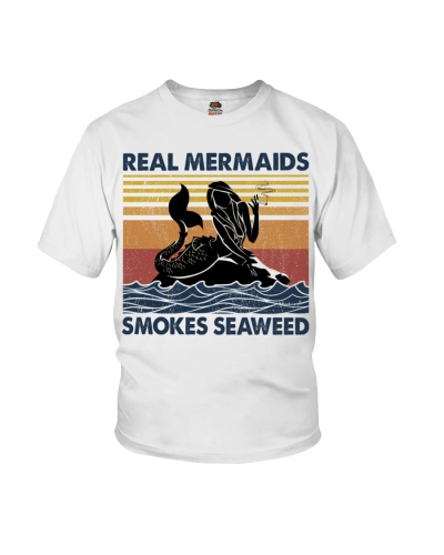 Mermaid Real Mermaids Smokes Seaweed