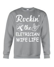 Electrician Wife Crewneck Sweatshirt thumbnail