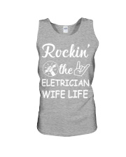 Electrician Wife Unisex Tank tile