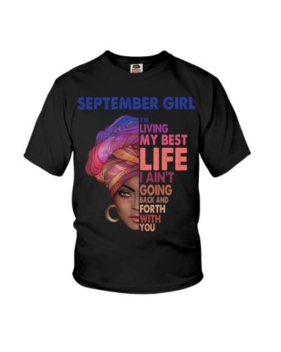 Black Woman September Girl