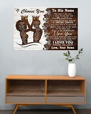 Family I Choose You 36x24 Poster poster-landscape-36x24-lifestyle-21