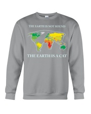 The earth is a cat Crewneck Sweatshirt thumbnail