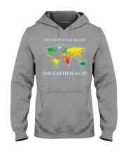 The earth is a cat Hooded Sweatshirt tile