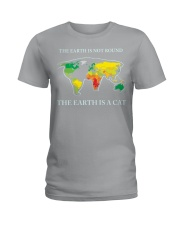 The earth is a cat Ladies T-Shirt thumbnail