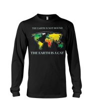 The earth is a cat Long Sleeve Tee thumbnail