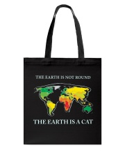 The earth is a cat Tote Bag thumbnail