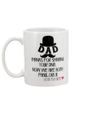 Dad Mug back