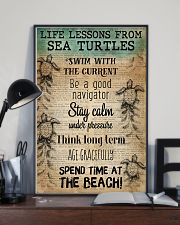 Ocean Life Lessons From Sea Turtles 16x24 Poster lifestyle-poster-2