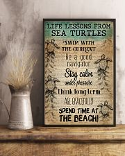 Ocean Life Lessons From Sea Turtles 16x24 Poster lifestyle-poster-3