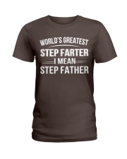 Step father Ladies T-Shirt thumbnail