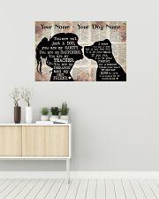 Dog Pitbull Best Friend 36x24 Poster poster-landscape-36x24-lifestyle-01