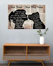 Dog Pitbull Best Friend 36x24 Poster poster-landscape-36x24-lifestyle-21
