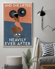 Fitness Heavily Ever After 16x24 Poster lifestyle-poster-1