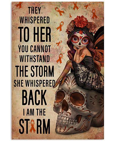 Leukemia I Am The Storm