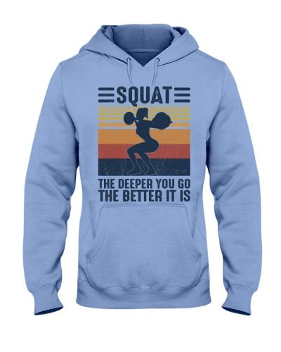 Gym Squat The Deeper You Go