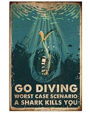 Scuba Go Diving 16x24 Poster front