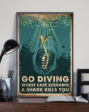 Scuba Go Diving 16x24 Poster lifestyle-poster-2