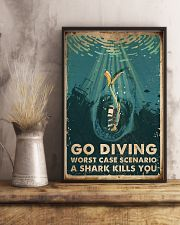 Scuba Go Diving 16x24 Poster lifestyle-poster-3