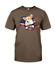 Corgi Flag Classic T-Shirt tile