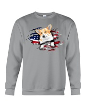 Corgi Flag Crewneck Sweatshirt thumbnail