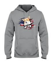 Corgi Flag Hooded Sweatshirt thumbnail