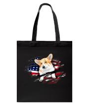 Corgi Flag Tote Bag thumbnail