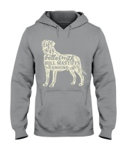 Life is better with bull mastiffs around Hooded Sweatshirt thumbnail