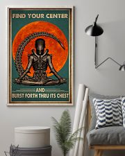 Yoga Find Your Center 16x24 Poster lifestyle-poster-1