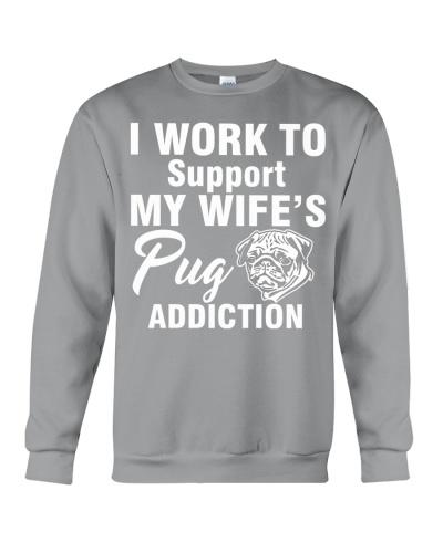 My wife's pug