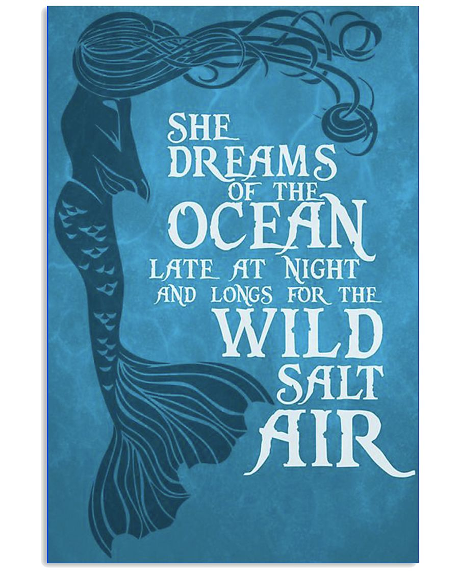 She Dreams of the Ocean 11x17 Poster