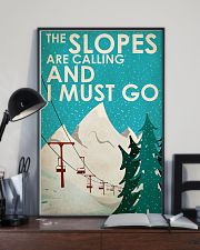 Skiing The Slopes Are Calling 16x24 Poster lifestyle-poster-2