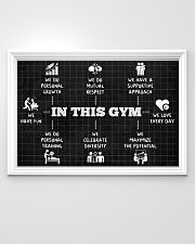 Fitness In This Gym 36x24 Poster poster-landscape-36x24-lifestyle-02