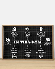 Fitness In This Gym 36x24 Poster poster-landscape-36x24-lifestyle-03