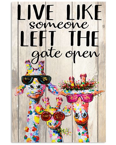 Giraffe Live Like Someone Left The Gate Open