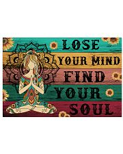 Yoga Lose Your Mind Find your Soul 36x24 Poster front
