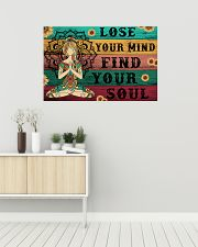 Yoga Lose Your Mind Find your Soul 36x24 Poster poster-landscape-36x24-lifestyle-01