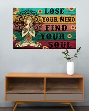 Yoga Lose Your Mind Find your Soul 36x24 Poster poster-landscape-36x24-lifestyle-21