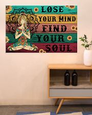 Yoga Lose Your Mind Find your Soul 36x24 Poster poster-landscape-36x24-lifestyle-22
