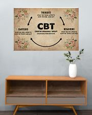 Mental Cognitive Behavioral Therapy 36x24 Poster poster-landscape-36x24-lifestyle-21