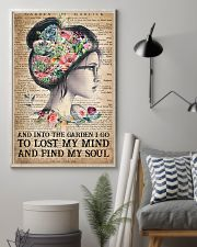 Garden Find My Soul 16x24 Poster lifestyle-poster-1