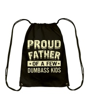 Proud father Drawstring Bag thumbnail