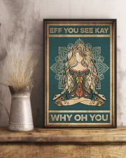 Yoga Eff You See Kay 16x24 Poster lifestyle-poster-3