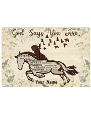 Horse God Says You Are 36x24 Poster front