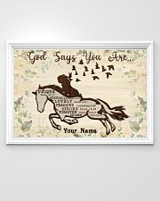 Horse God Says You Are 36x24 Poster poster-landscape-36x24-lifestyle-02