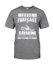 Weekend forecast Classic T-Shirt thumbnail