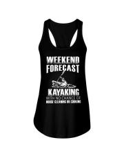 Weekend forecast Ladies Flowy Tank front