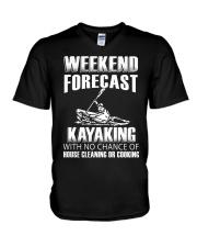 Weekend forecast V-Neck T-Shirt thumbnail